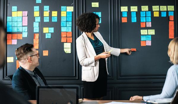 la réunion idéale doit être créative