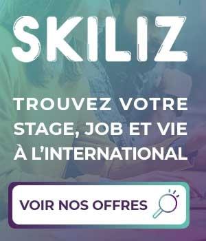 Trouvez votre stage à l'étranger avec Skiliz